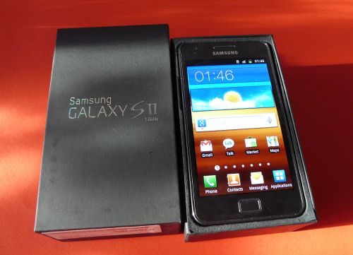 Galaxy S 2 despachetat