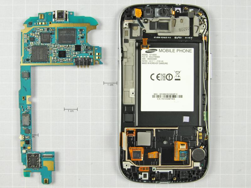 Samsung Galaxy S III disecat
