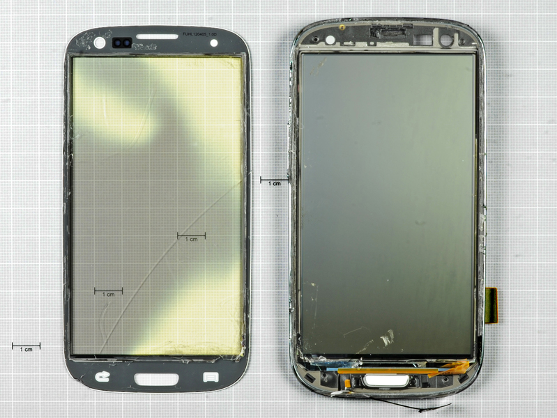Samsung Galaxy S III dezasamblat