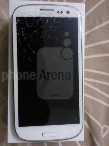 Samsung Galaxy S III Gorilla Glass 2 spart