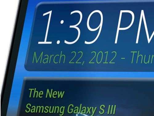 Samsung Galaxy S III Într-o nouă imagine de presă... cel mai probabil un fals!