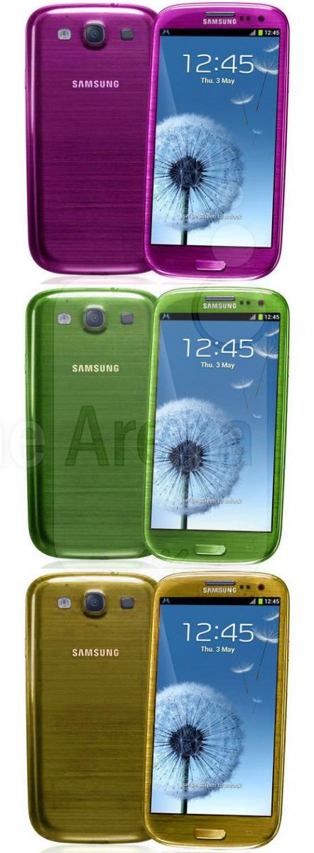 Samsung Galaxy S III culori