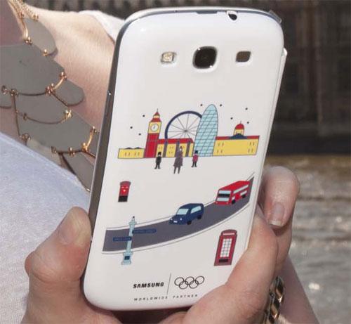 Galaxy S III primește o husă flip specială pentru Olimpiadă de la Londra 2012