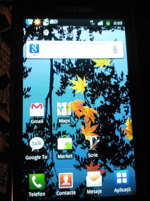 Android 2.3.3 disponibil pentru Samsung Galaxy S În România