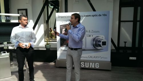 Lansare Samsung GALAXY S4 Zoom