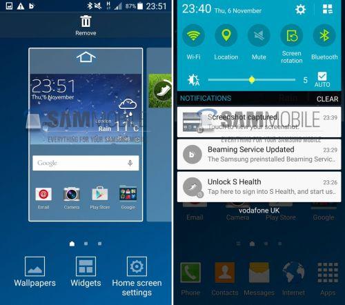 Iată cum arată Android 5.0 pe Samsung Galaxy S4 și noul TouchWiz În acțiune (Video)