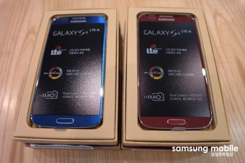 Samsung Galaxy S4 LTE-A Snapdragon 800