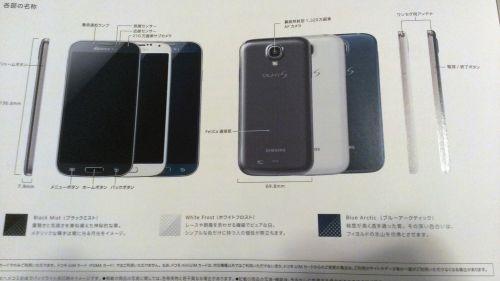Samsung Galaxy S4 albastru
