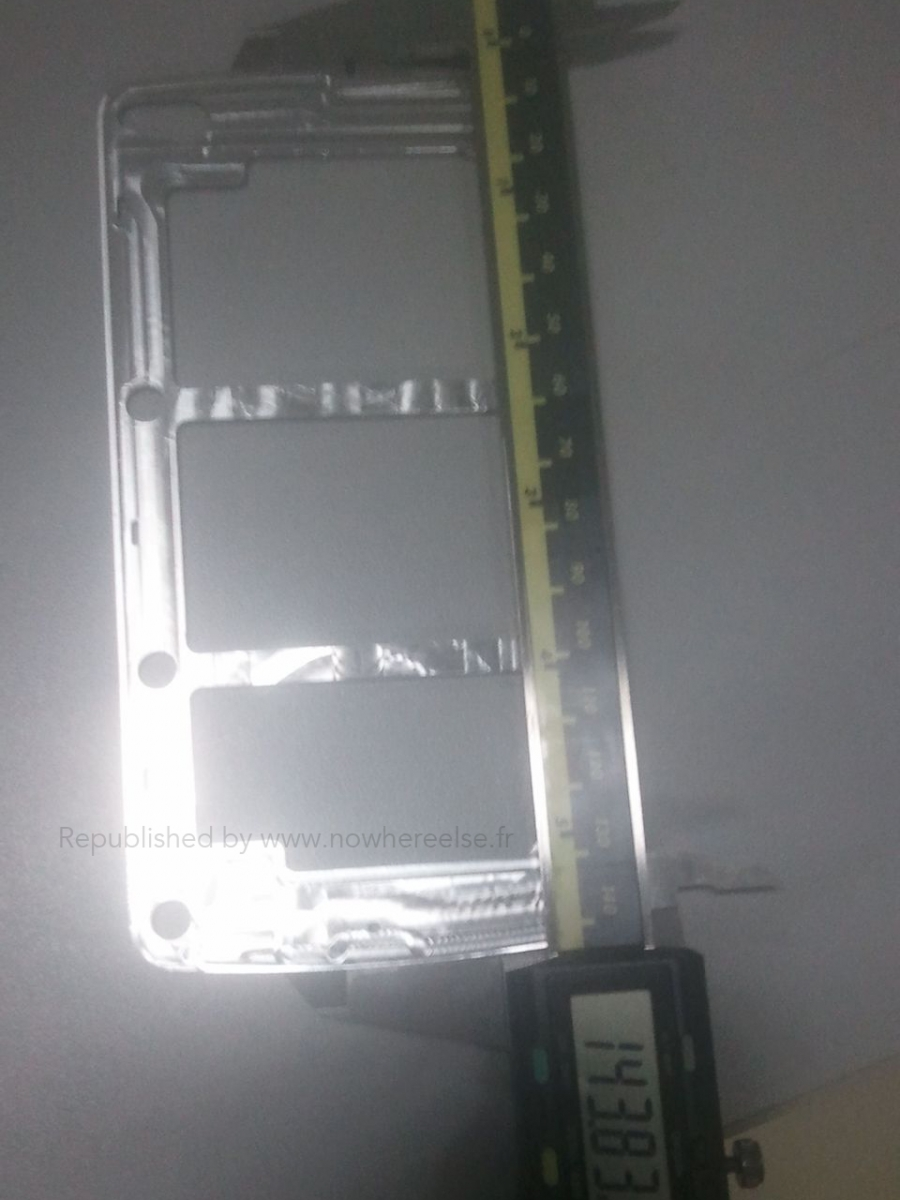 Samsung Galaxy S5 În prima scăpare cu iz autentic: ramă metalică, posibil indiciu cu privire la carcasă metalică