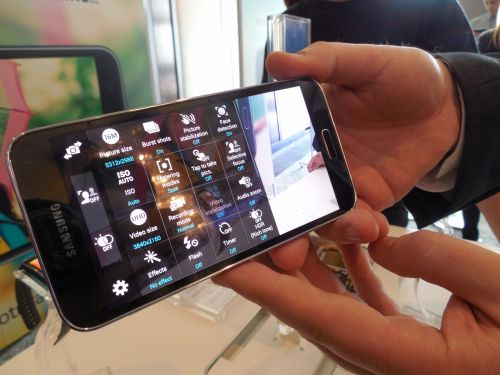 Samsung Galaxy S5 hands on preview