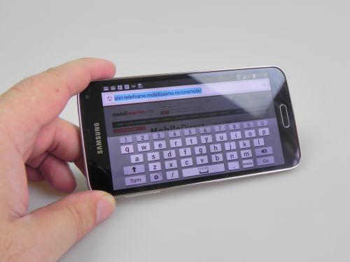 Tastatura lui Samsung Galaxy S5