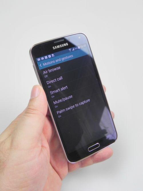 Setari Samsung Galaxy S5