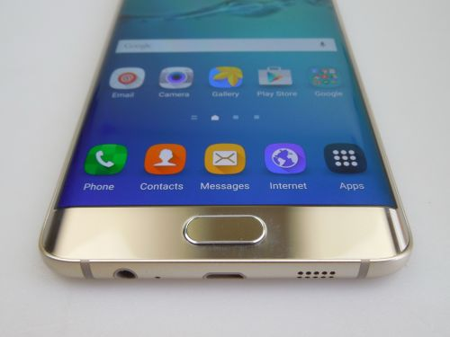 Samsung Galaxy S6 Edge+ scanner de amprente