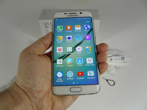 Samsung Galaxy S6 Edge Unboxing
