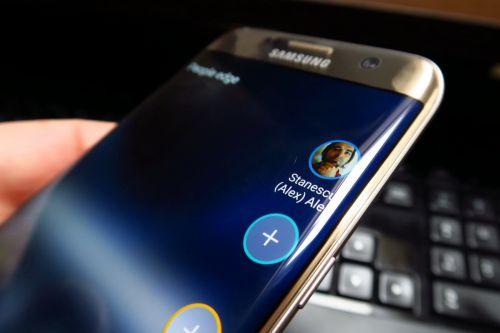 Samsung Galaxy S7 Edge, functii ecran curbat
