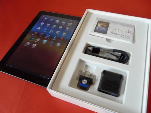 Samsung Galaxy Tab 10.1 despachetat