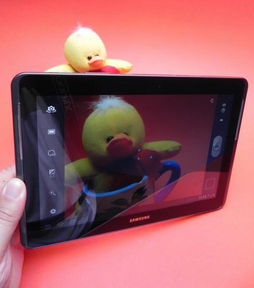 Samsung Galaxy Tab 2 10.1 camera de 3 megapixeli