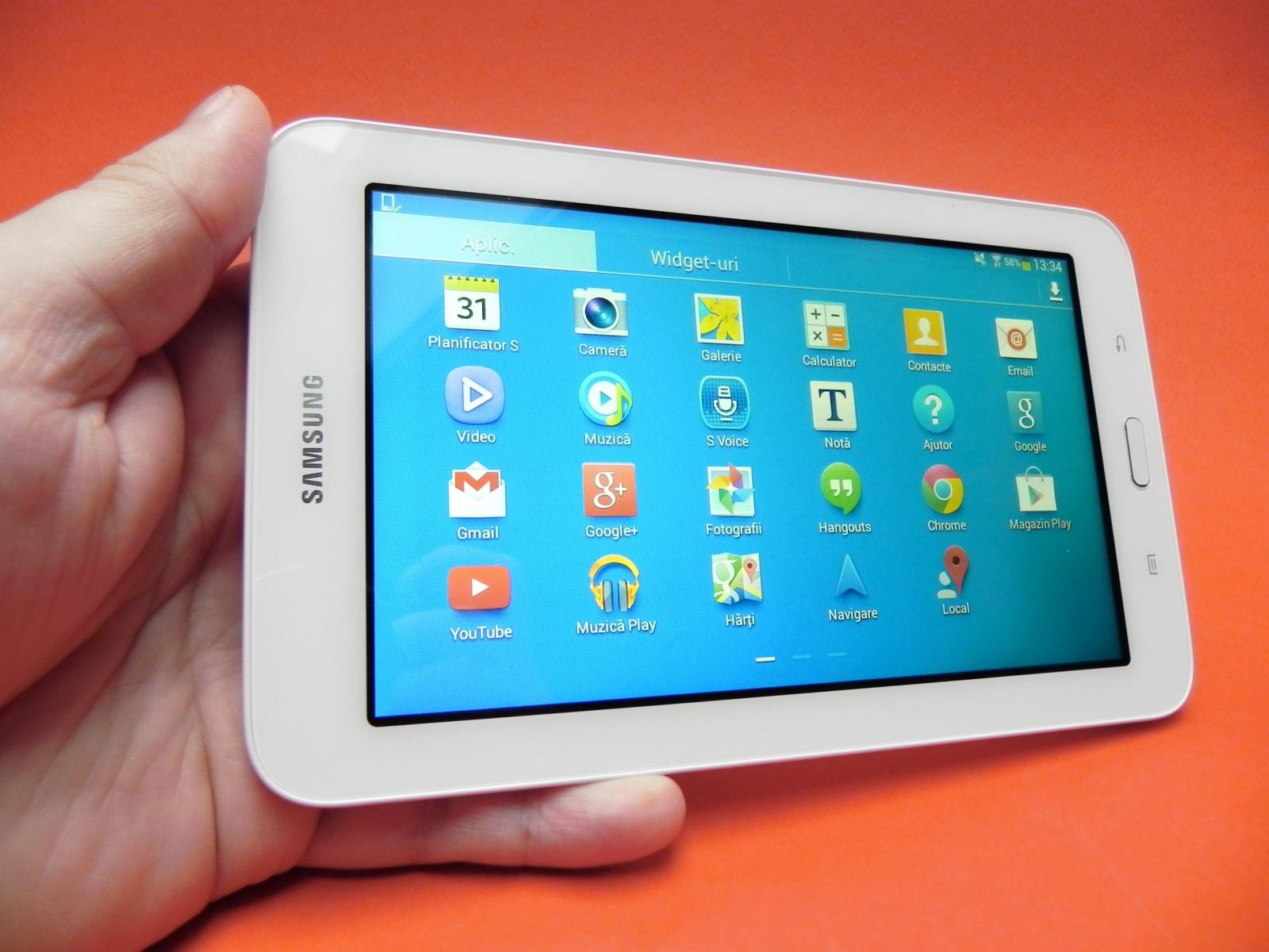 Samsung galaxy tab 3 lite 7 0 review cea mai accesibil for Photo ecran galaxy tab 3