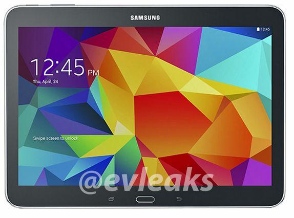 Samsung Galaxy Tab 4 10.1 apare Într-o primă serie de imagini randate ce scot la iveală versiunile pe alb și negru
