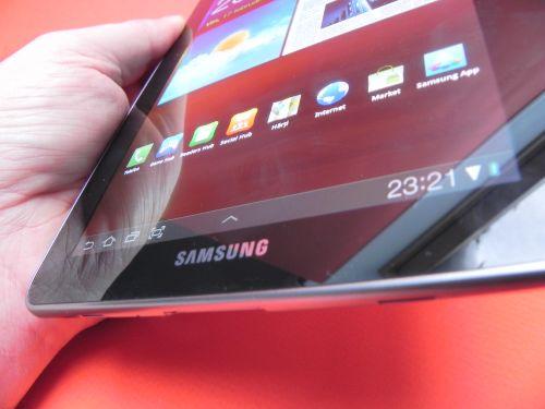 Spuprafata glossy Galaxy Tab 7.7