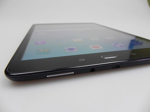 Samsung Galaxy Tab A 9.7 pe partea audio