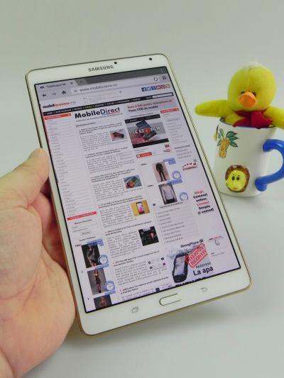 Recenzie Samsung Galaxy Tab S 8.4