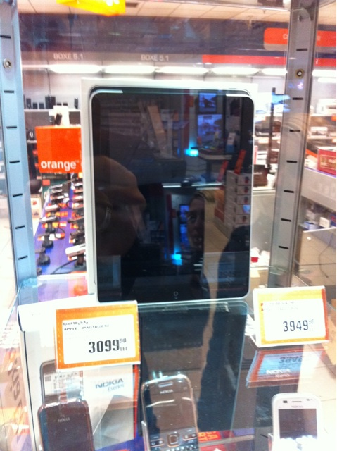 Samsung Galaxy Tab la Orange
