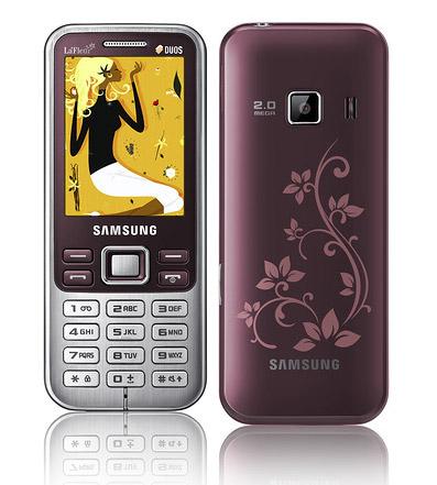 Samsung prezintă ediția de telefoane mobile La Fleur pe 2012
