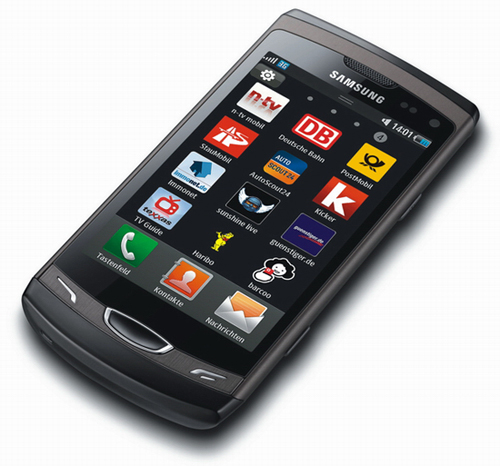 Un nou smartphone Bada OS: Samsung Wave II S8530, dotat cu display SCLCD