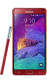 Samsung lansează un Galaxy Note 4 roșu