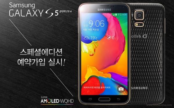 Samsung Galaxy S5 În versiunea LTE-A primește un nou capac spate și e testat În benchmarkuri