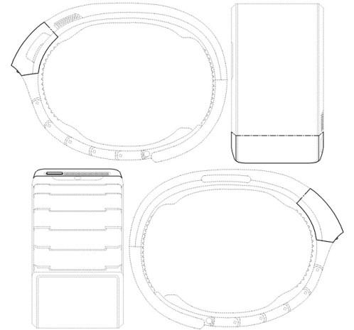 Brevet Samsung Galaxy Gear