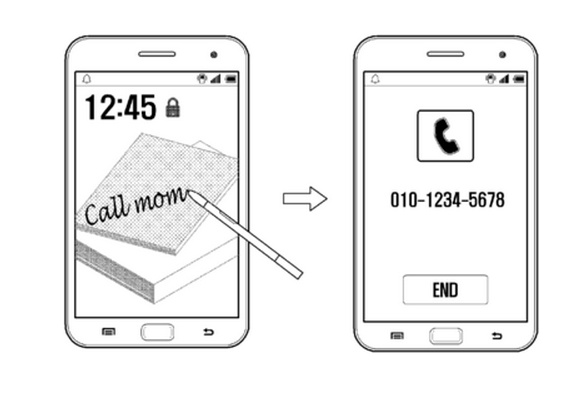 Următoarele modele Galaxy Note ar putea folosi recunoașterea scrisului de mână pentru deblocarea ecranului