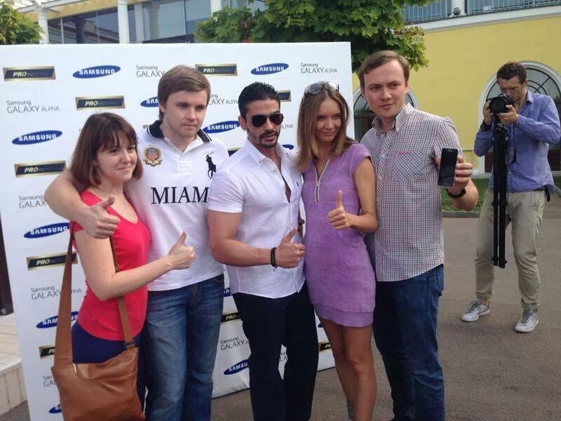 Samsung Galaxy Alpha se afișează În cadrul unui eveniment oficial În Rusia