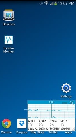 Benchmark Samsung