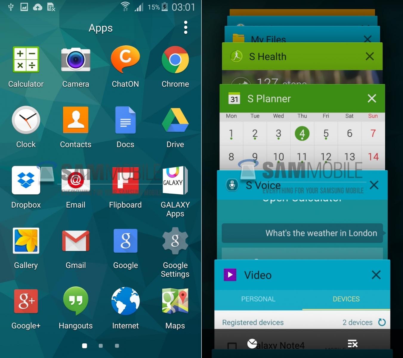 Samsung Galaxy S5 (SM-G900F) primește actualizarea la Android 5.0 Lollipop