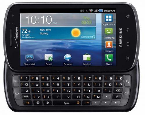 LTE, Android și QWERTY pe un singur telefon Samsung: Stratosphere, În curând În State!