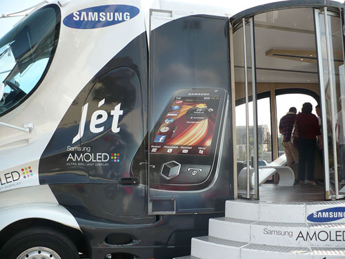 Caravana Samsung in Bucuresti