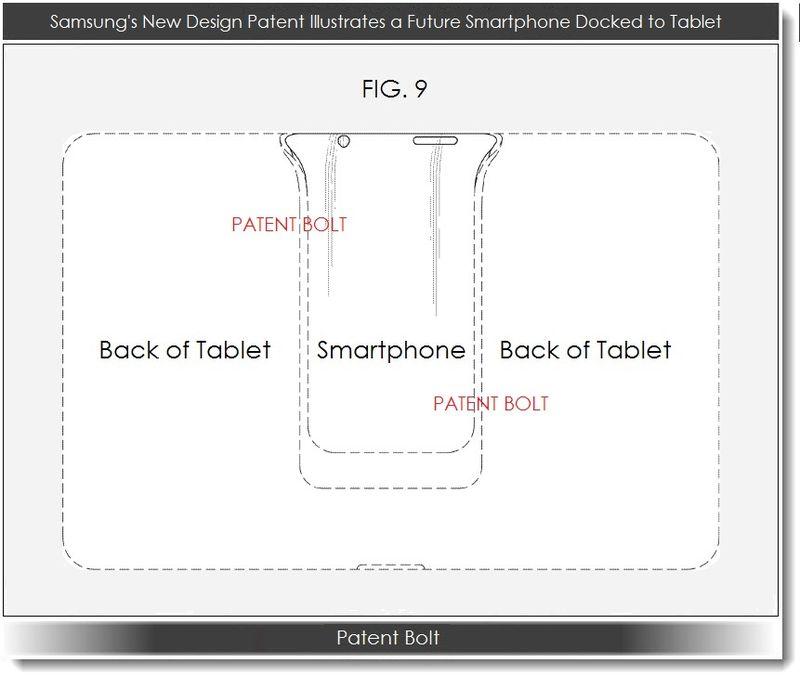 Samsung primește un brevet pentru un... Padfone?!