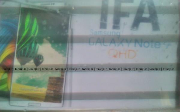 Samsung Galaxy Note 4 apare sub formă de profil UAProf pe site-ul Samsung, vedem si un poster cu noul terminal