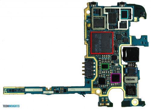 Samsung Galaxy Note 3 disecat, costă 232 de dolari producția sa