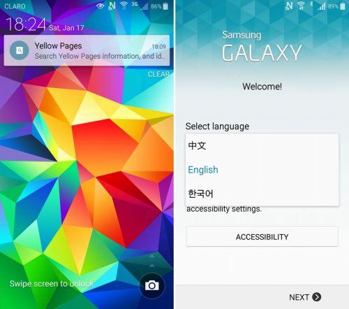 TouchWiz În versiunea Android 5.0.1 pentru Galaxy S4 primește capturi de ecran, ajunse pe web