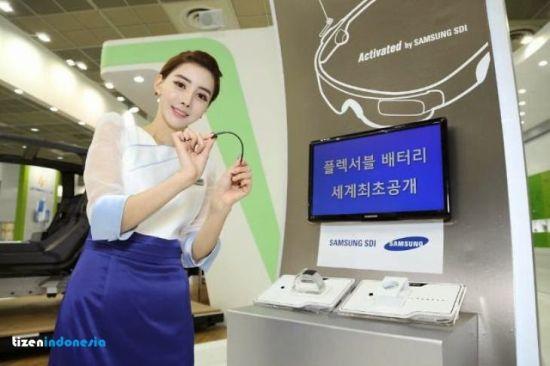 Samsung prezintă baterii flexibile și rulabile pentru device-urile purtabile