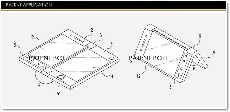 Samsung brevetează un smartphone dual display, care implementează o nouă interfața și modalitate de utilizare