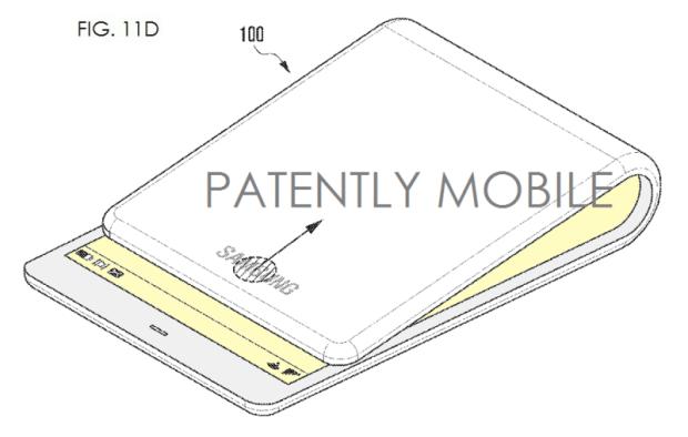 Samsung, smartphone care se poate curba