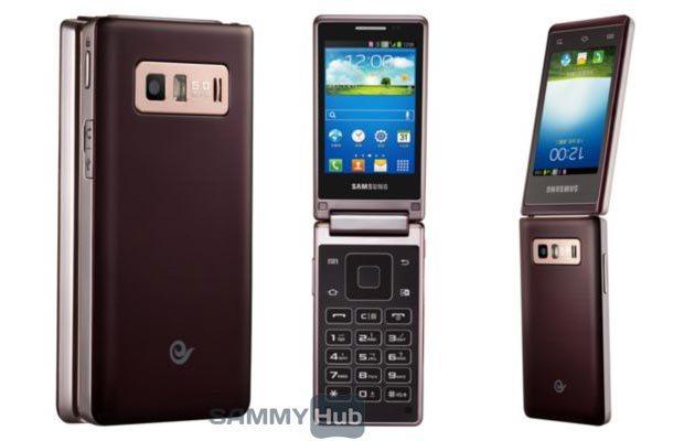 Telefonul Samsung cu clapeta Galaxy Folder ajunge pe web În imagini noi