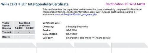 Două noi tablete Samsung și Galaxy S III surprinse În certificări WiFi oficiale? Terminalele Samsung P3100, P5100 și i9300 Își fac apariția...