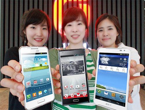 Samsung SHV-E170K - lansat În Coreea de Sud