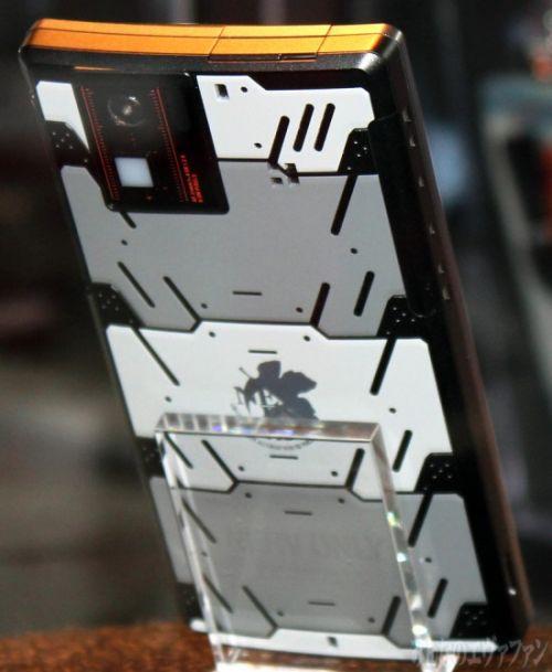 Sharp Evangelion SH-06D NERV - back