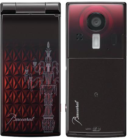 Sticlărie de lux sau telefon? Sharp prezintă un telefon elegant, produs În colaborare cu Baccarat